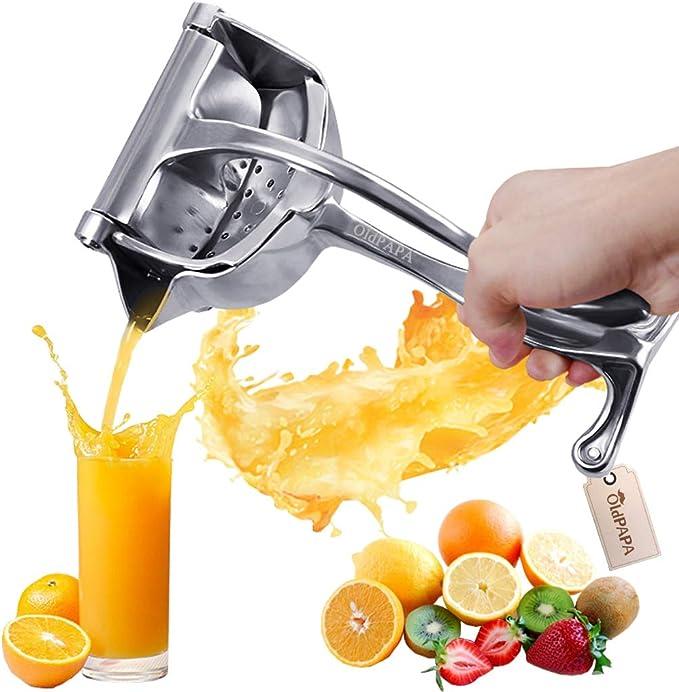 pour Citron Orange Ou Autres Fruits MINGZE Lemon Squeezer Presse-Citron Manuel Presse agrume /à Levier Fabriqu/é en Alliage de Zinc