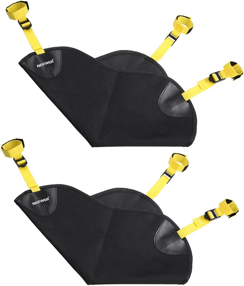 Boom Stand and Tripod Neewer 2 Pack Black Heavy Duty Photographic Studio Video SandBag for Gitzo,Manfrotto,Didea and Benro Series Stands and Other Universal Light Stands