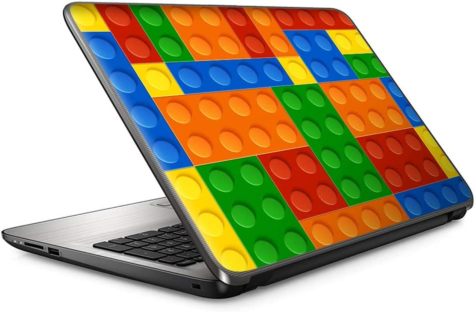 "15 15.6 inch Laptop Notebook Skin Vinyl Sticker Cover Decal Fits 13.3"" 14"" 15.6"" 16"" HP Lenovo Apple Mac Dell Compaq Asus Acer/Toy Building Blocks Colorful Game Stackable Toys"