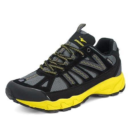 BUSL Scarpe atletiche da uomo scarpe da escursione casual impermeabili all aperto  scarpe da corsa d43ee0407d8