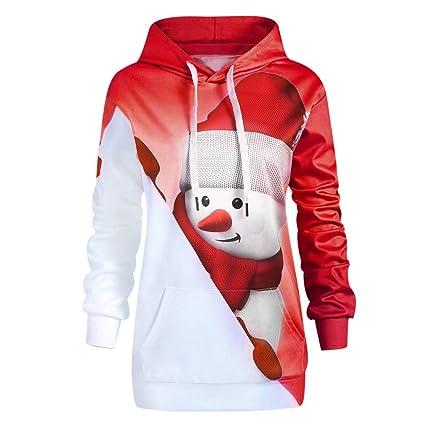 Christmas Kangaroo Cartoon.Amazon Com Livoty Women Hoodie Sweatshirt Plus Size