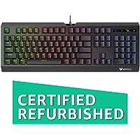 (Renewed) Rapoo V52S Backlit Gaming Keyboard (Black)