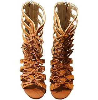 3dbe24201ae Vokamara Girls Fashion Summer Bow Gladiator Sandals Summer Dress Flats