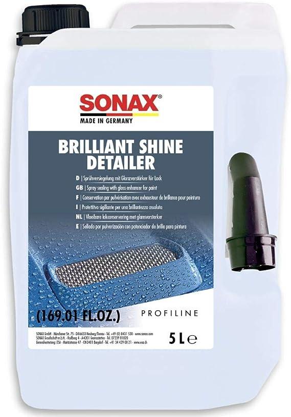 Sonax Profiline Brilliantshine Detailer 5 Liter Sprühkonservierer Und Glanzverstärker Für Das Schnellste Lackfinish Art Nr 02875000 Auto