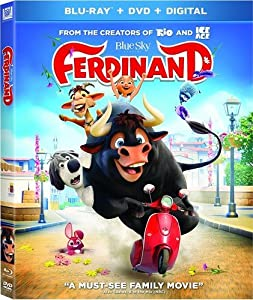 Cover Image for 'Ferdinand [Blu-ray + DVD + Digital]'