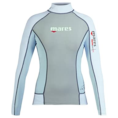 premium selection 7ff44 383b2 Mares Damen Tauch-Shirt Langarm Thermo Guard L-Sleeve 0.5 mm