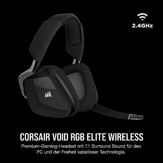 Corsair Void Elite Rgb Wireless Gaming Headset Carbon Computer Zubehör