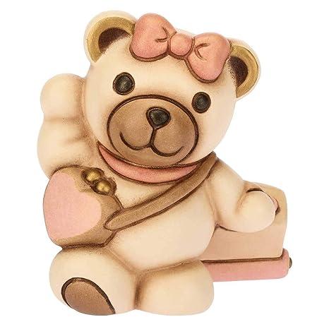 Thun Orsetto Teddy Piccolo Con Dettagli Rosa Bomboniere