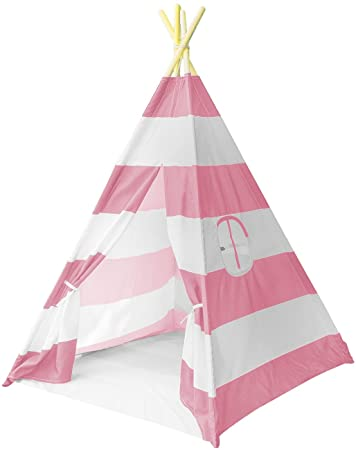 Sorbus Teepee Tent for Kids Play u2014 Includes Portable Carry Bag for Travel or Storage u2014  sc 1 st  Amazon.com & Amazon.com: Sorbus Teepee Tent for Kids Play u2014 Includes Portable ...