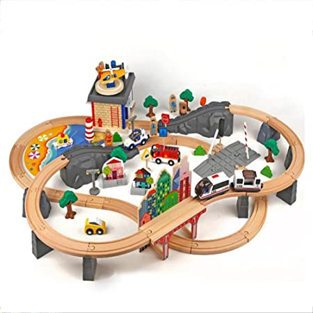 Y Z Mei Childrens Toy Cars Kids Toys Toy Trains Electric Wooden