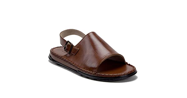 82de4e8c3c14 comJ aime Aldo Men s 82623 Leather Lined Sling Back Open Toe Slides Sandals
