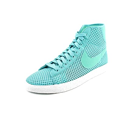 sale retailer bf889 d98f3 Nike Blazer Mid Mesh Womens Blue Mesh Sneakers Shoes Size UK 7.5   Amazon.co.uk  Shoes   Bags