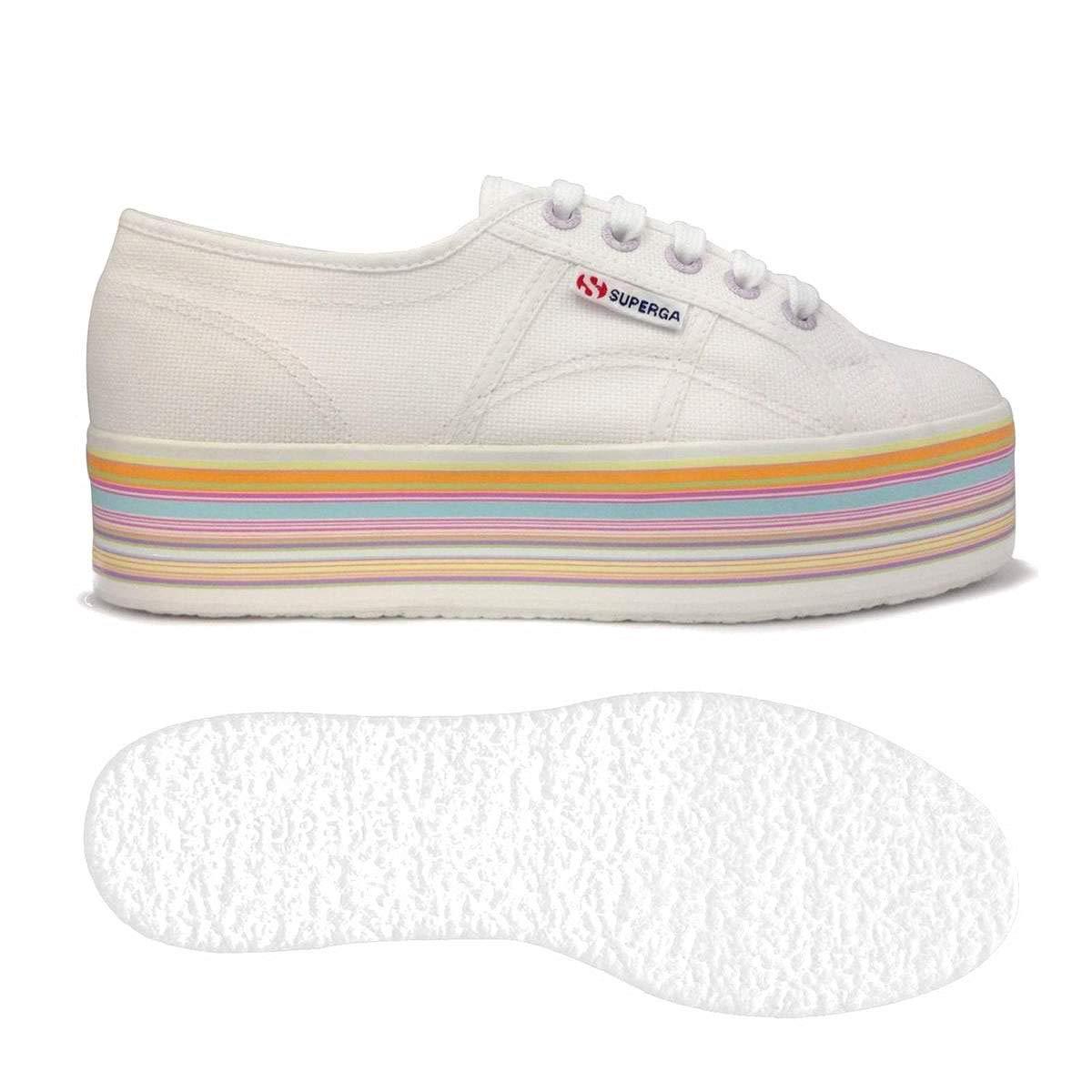 SUPERGA 2790 multicolor Cotw, Sneaker Donna