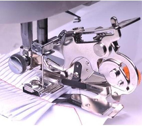 fqtanju 1 piezas Ruffler prensatelas para máquina de coser: Amazon.es: Juguetes y juegos
