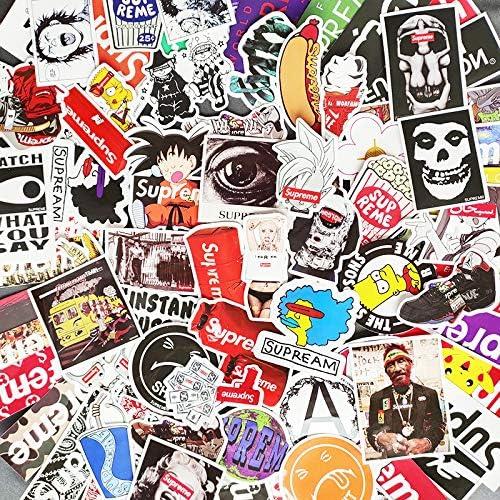 Graffiti Comic Sticker Pack Impermeable Equipaje Laptop Bike Taza De Agua Pegatina 108 Unids: Amazon.es: Hogar