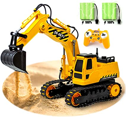 Excavator Toys For Boys Truck Kids Toddler Construction Car 3 4 5 6 7 8 Year Old