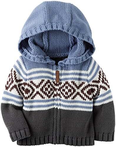 Carter's Hooded Zip Up Sweater (Baby)