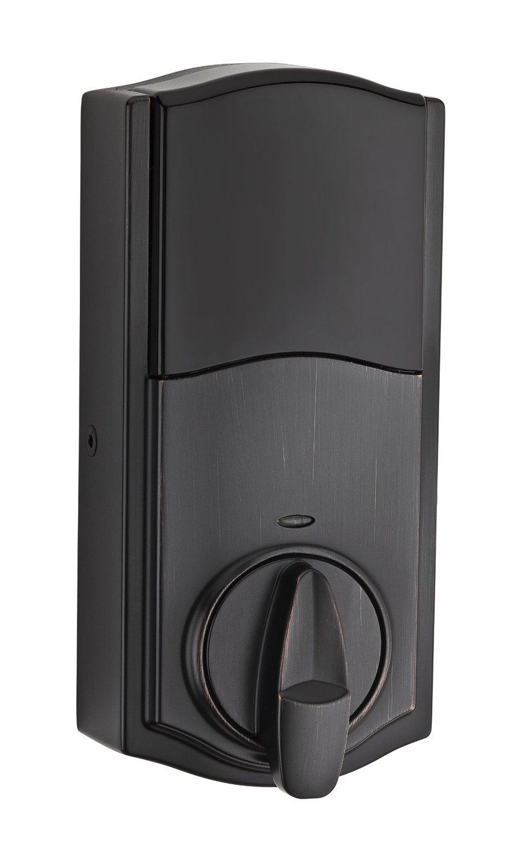 Kwikset 914 Z-Wave SmartCode Electronic UL Deadbolt, Works with Amazon Alexa via SmartThings, Wink, or Iris featuring SmartKey in Venetian Bronze by Kwikset (Image #4)