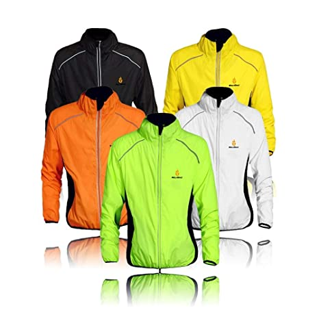 Ropa deportiva Ciclismo chaqueta impermeable para hombres y ...
