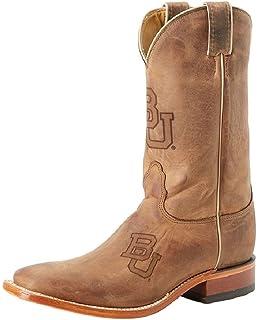 aa442542e01 Amazon.com | Nocona College Men's Ohio State University Cowboy Boot ...