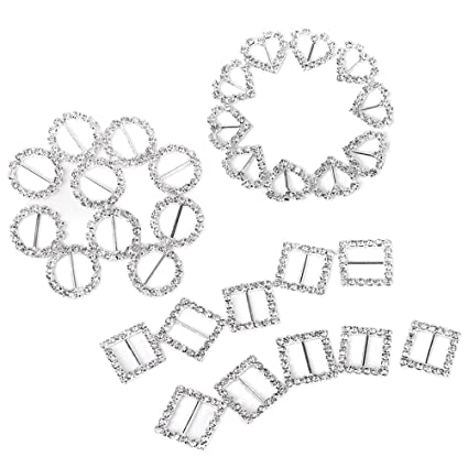 amazon com tinksky ribbon buckle sliders for diy craft wedding card