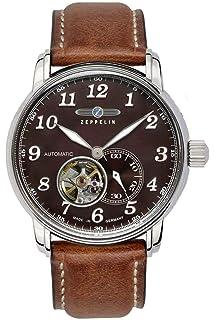 Zeppelin Men s Alarm Chronograph 100 Jahre Zeppelin 8680-4  Amazon ... 6038779724