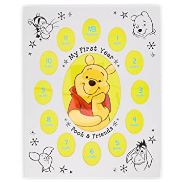 disney baby winnie the pooh my first year - Winnie The Pooh Picture Frame