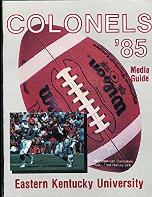 1985 Eastern Kentucky University Football Press Media Guide
