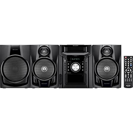 61nCvNXi8sL._SY450_ amazon com sharp bluetooth 350 watt all in one hi fi audio stereo  at n-0.co
