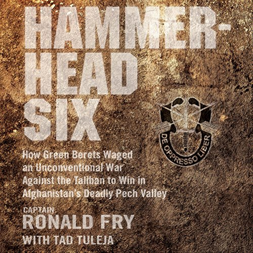 Hammerhead Six: How Green Berets Waged an Unconventional War Against the Taliban to Win in Afghanistan's Deadly Pech Valley Audiobook [Free Download by Trial] thumbnail
