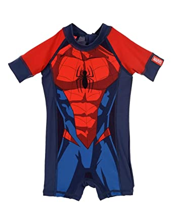 546124452b Spiderman Boys' Swimming Shorts - Blue - 18-24 Months: Amazon.co.uk:  Clothing
