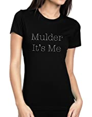 Emdem Apparel Mulder It's Me X Files Scully Mens Novalty TV Shirt Womens T Shirt