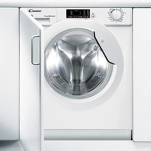 Candy - CBWD-8514D - Lavasecadora Integración - 8KGS + 5KGS - 1400RPM - Display Digital - Clase AAA - Color Blanco