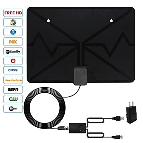 Review HDTV Antenna, 2018 new