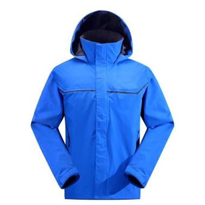 WU LAI Hombre Chaquetas Escaladores Chaquetas Prendas De Abrigo Monolayer Cold Waterproof: Amazon.es: Ropa y accesorios