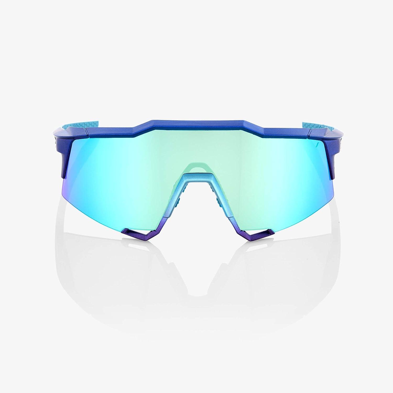 100 % Speedcraft Lunettes de soleil pour homme Bleu