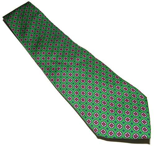 - Polo Ralph Lauren Mens Italy Silk Dress Necktie Tie Green Pink Blue Yellow