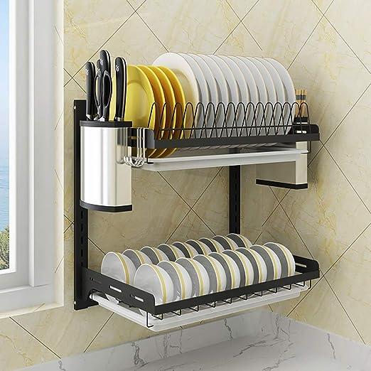Shelf LYG Estante For Platos De Cocina Organizador For Platos De ...