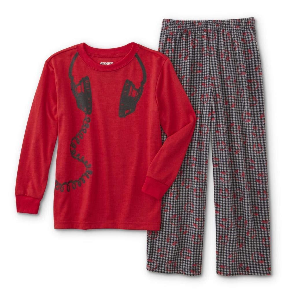 Sleep Hard Joe Boxer Boys Pajama Shirt /& Pants 10//12 Play Hard Large