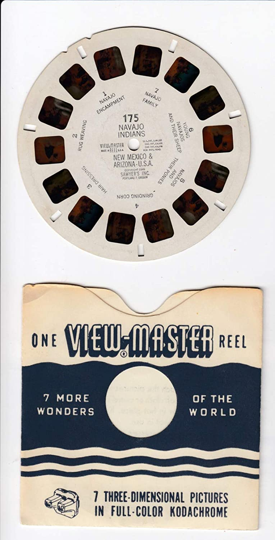 View Master Navajo Indians New Mexico /& Arizona Vintage 1949 Viewmaster Reel #175