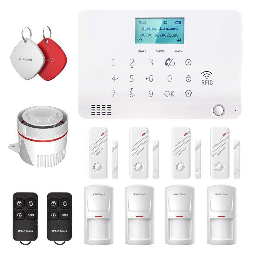 Lobo Guardia MR1 GSM IOS/Android App Control LCD Protector de hogar alarma sistema de seguridad: Amazon.es: Bricolaje y herramientas