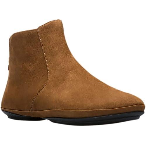 CAMPER - Botas de Cuero para Mujer Marrón Braun (Campbuck Faune/Pina Negro): Amazon.es: Zapatos y complementos