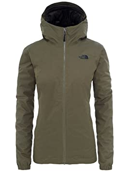 North Face W Quest Insulated Jacket - Chaqueta, Mujer, Verde ...