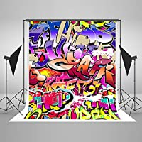 5x7ft Children Backdrop Background Graffiti Art Wall Photo Photography Backdrops J01786 by Everblue Tk
