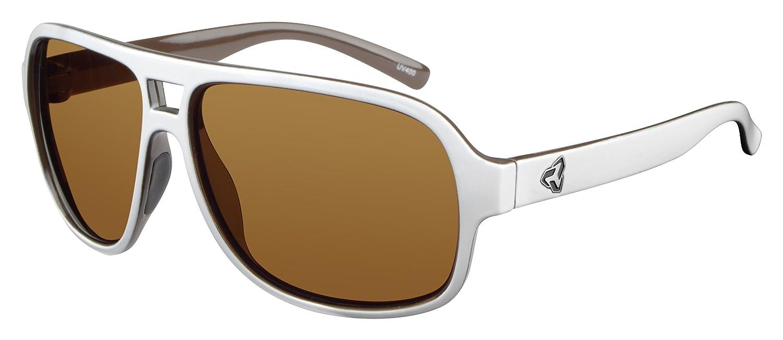 Brown D/&H R579-003 Ryders Eyewear Pint Sunglasses White