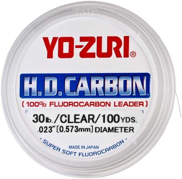 Best Fluorocarbon Lines : Yo-Zuri H.D. Carbon Fluorocarbon Leader Line