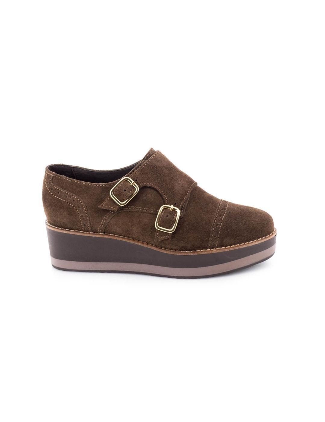 VEXED Zapato Piel Marron 3644 39 EU|Castaño