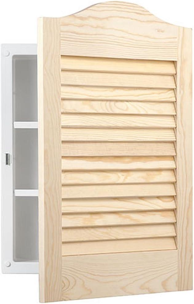"""Jensen 602X Louver Door Medicine Cabinet, 16"""" x 24"""""""