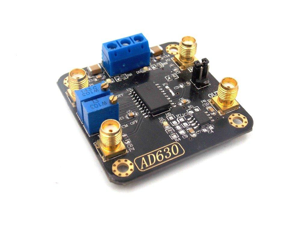 Diybigworld Balanced modulator AD630 lock-in amplifier module weak signal detection, modulation and demodulation