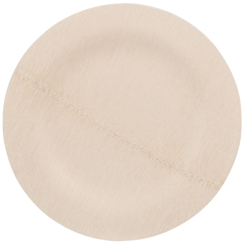 Bambu 060700 9'' Disposable Bamboo Plate - 100 / Box by Bambu (Image #1)